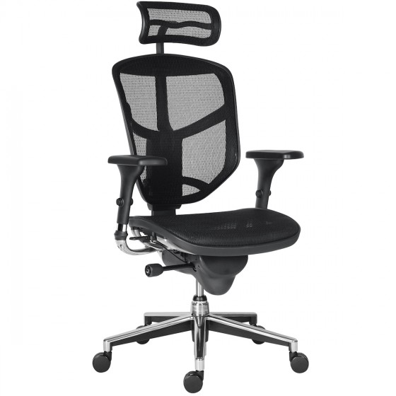 Scaun Ergonomic Enjoy Classic Plus - W Black Mesh