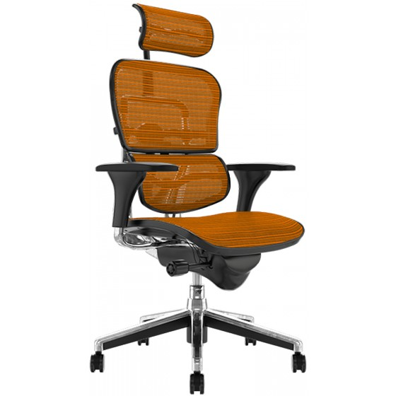 Scaun Ergonomic Ergohuman - KMD Orange Mesh