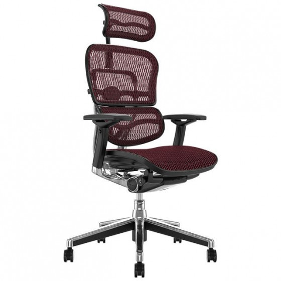 Scaun Ergonomic Ergohuman Elite Plus / Red Mesh