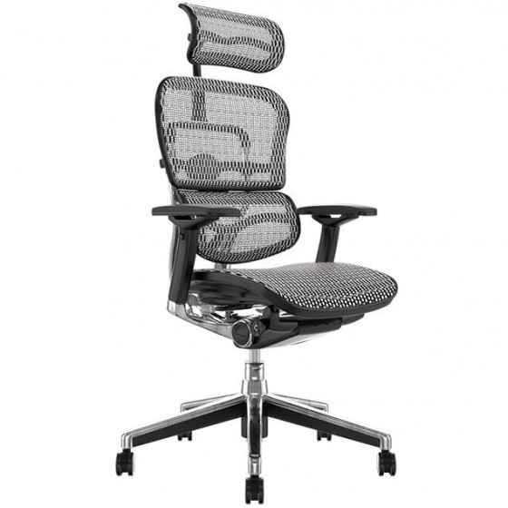 Scaun Ergonomic Ergohuman Elite Plus / White Mesh Mesh